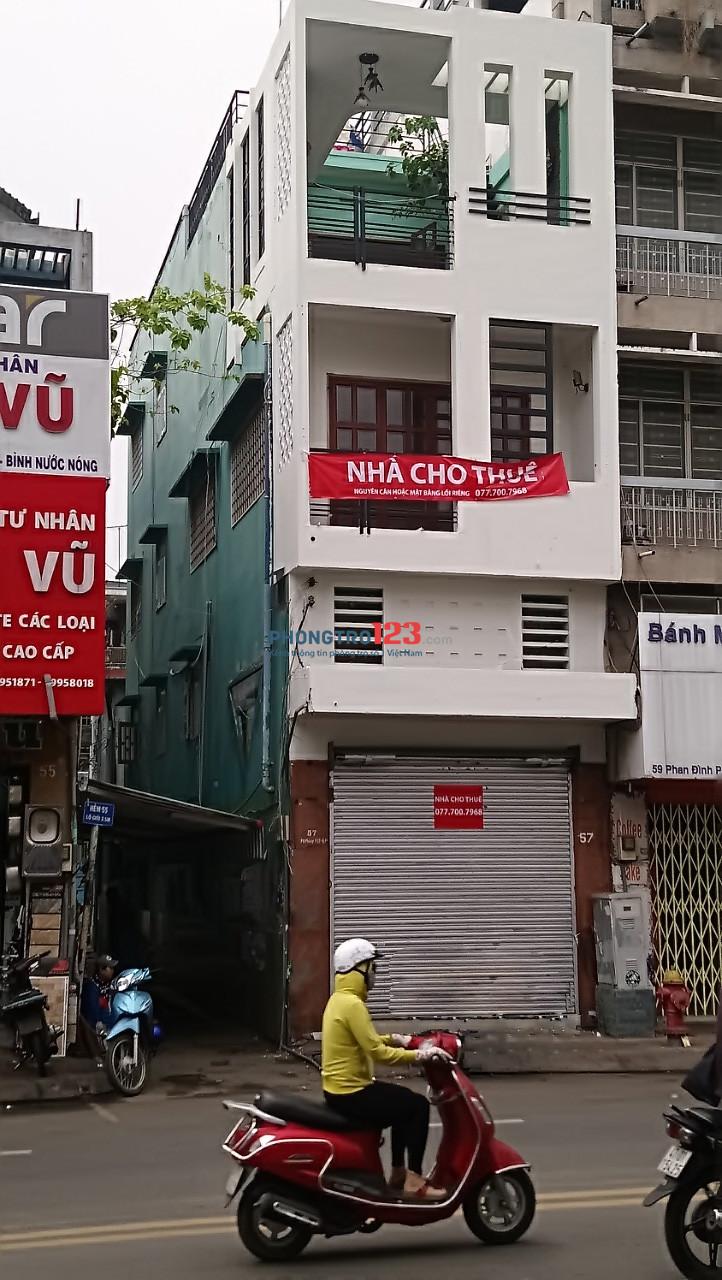 Cho thuê nhà 57 Phan Đình Phùng, Phường 17, Quận Phú Nhuận