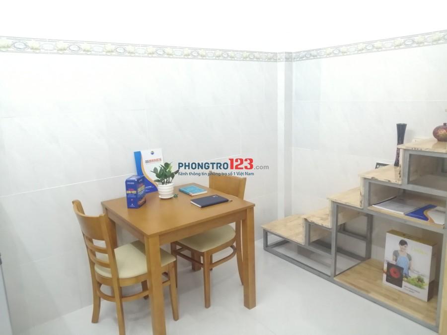 Căn hộ Trường Chinh, Tân Bình 30m2 full nội thất ở 4 người khu an ninh