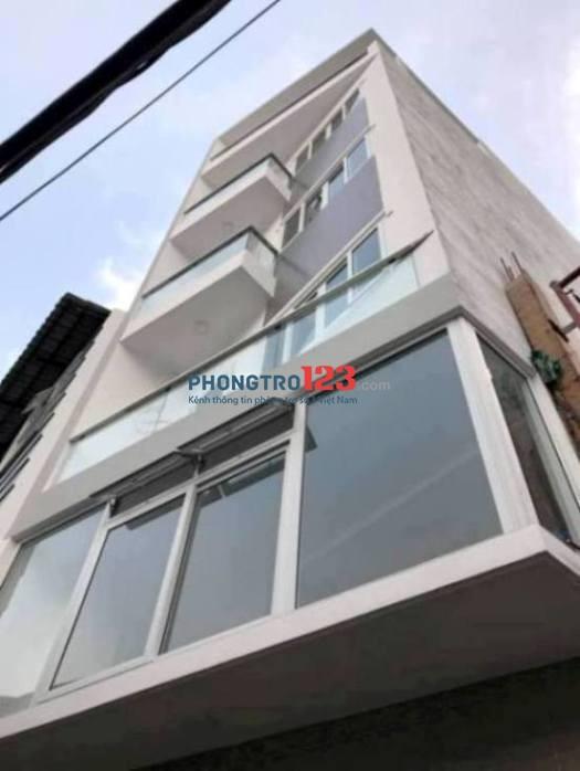 Cho thuê phòng trọ quận Gò Vấp mới xây 100%