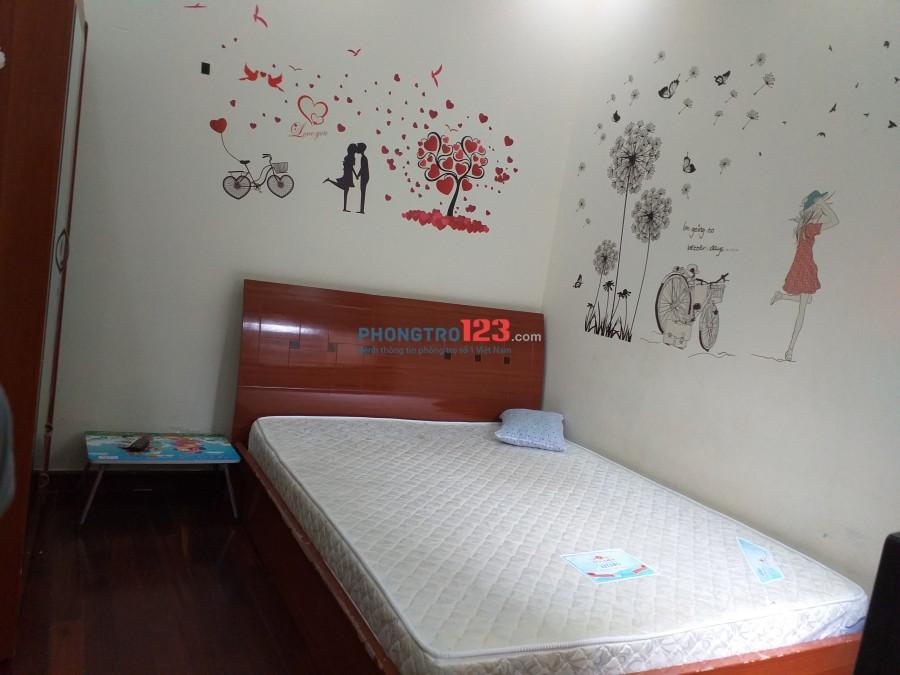 Cho thuê phòng trọ đường Nguyễn Thượng Hiền, P.5, Q.3