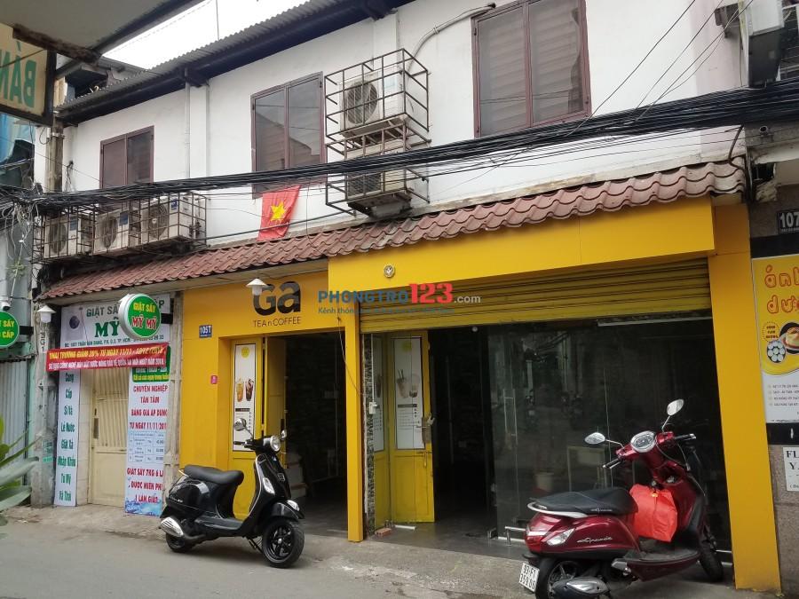 Cho thuê phòng trọ mặt tiền Trần Văn Đang, Quận 3, ga Sài Gòn