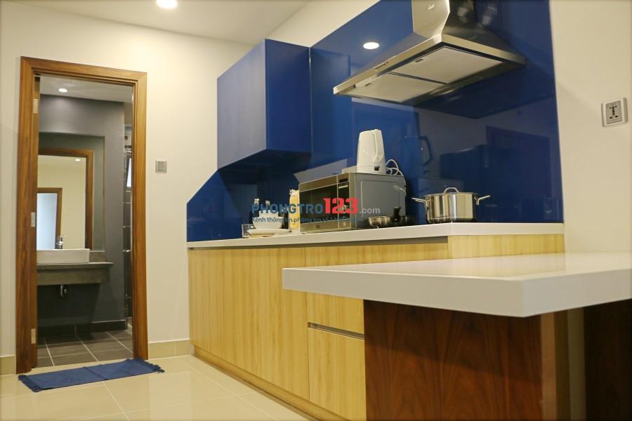 Cho thuê căn hộ mini 1PN/1WC MT Hồng Hà full nội thất cao cấp chỉ 10tr/th, Tel 0932709098 A.Lộc