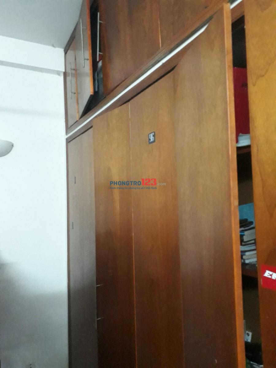 Phòng trọ đường chu văn an, đầy đủ nội thất, có ban công và tolet riêng
