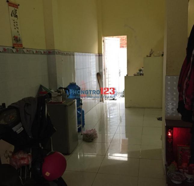 Cho thuê phòng trọ trong nhà nguyên căn quận Bình Tân, Giá 2 triệu, có toilet trong phòng