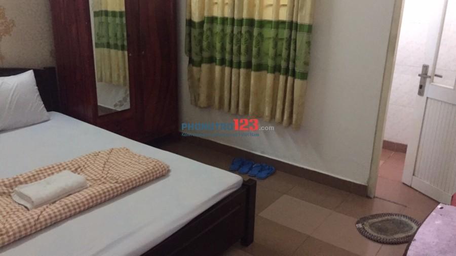 Cho thuê phòng giờ tự do, không chung chủ, có máy lạnh, toilet riêng, đường Lê Văn Thọ, Gò Vấp
