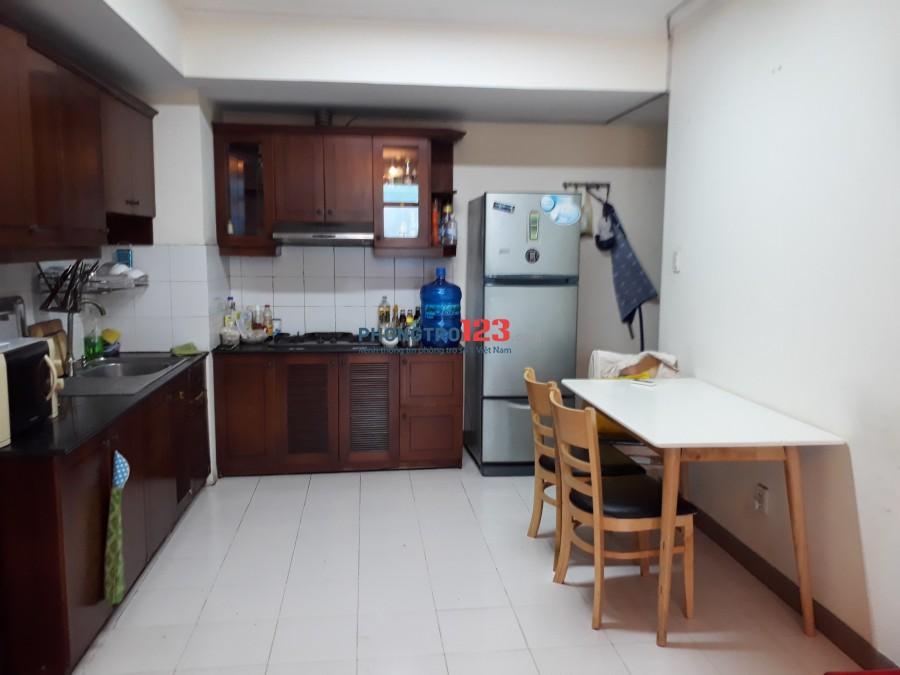Phòng master chung cư Phúc Thịnh, quận 5