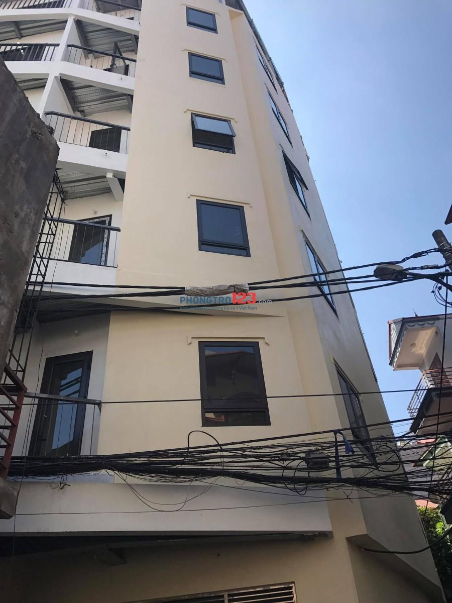 Cho thuê chung cư mini Trần Bình, cạnh đại học thương mại chỉ từ 2 triệu