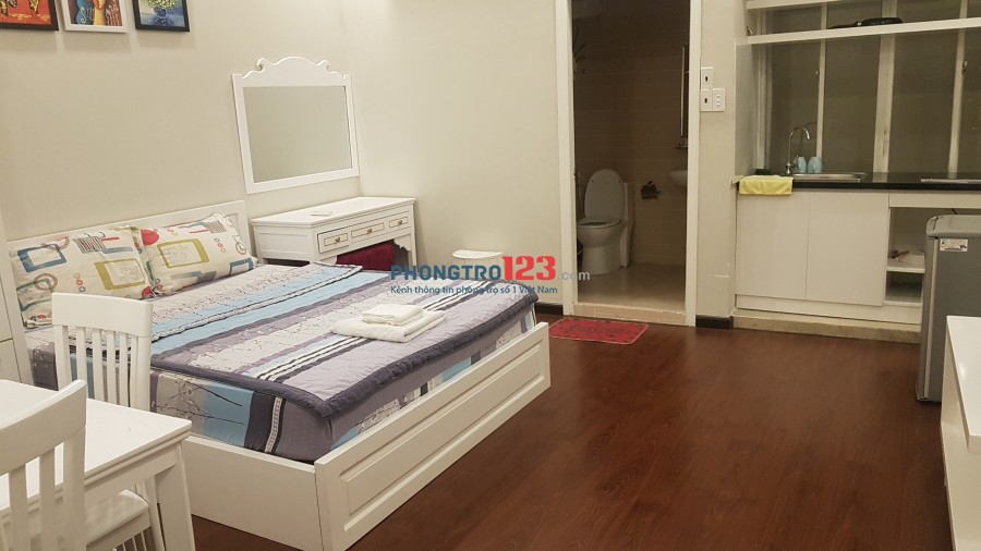 Cho thuê phòng ở D2 nối dài dt 30m2 full nội thất, wc riêng, phòng ốc rộng rãi thoáng mát, có ban công cửa sổ
