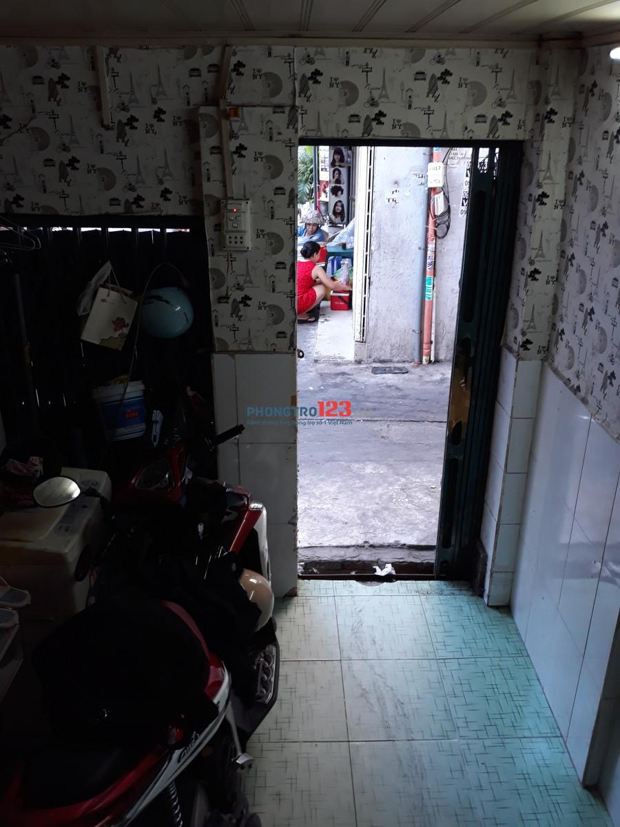 Nhà 30m2 hẻm 268 Lý Thái Tổ, giá 3.500.000/tháng