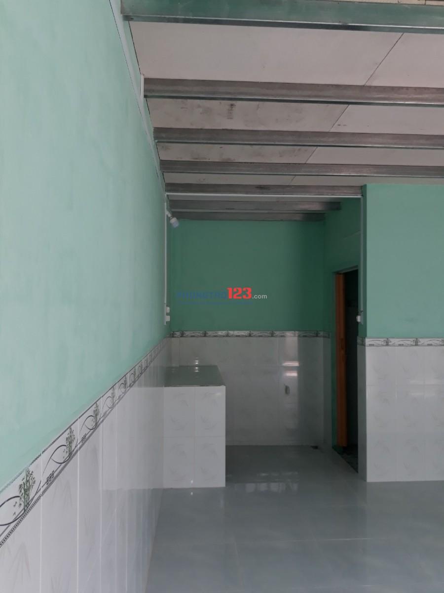 Phòng trọ mới xây đường Lộ Vòng Cung. Có gác lửng, phù hợp sinh viên, nhân viên văn phòng