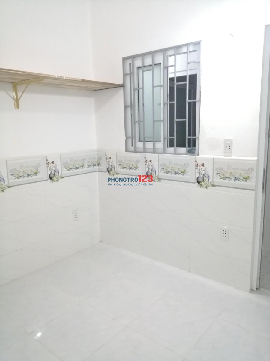 Cho thuê nhà trọ mới xây quận Gò Vấp mới 100%, chưa người sử dụng