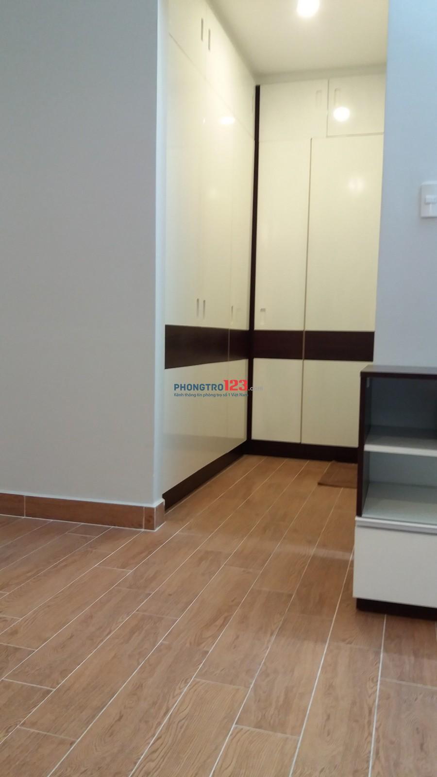 Cho thuê căn hộ mini ngay đường D1, Q.Bình Thạnh (gần Pearl Plaza- vào trung tâm Q1 chỉ 10 phút)