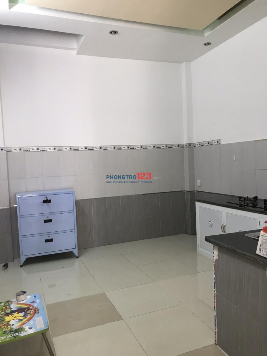 Phòng chỉ 2.5tr tầng trệt, bếp+ WC riêng, khu công chức an ninh, Lê Văn Thọ, P.11, Gò Vấp