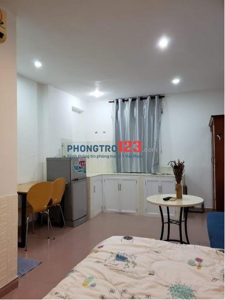 Phòng cho thuê mới full nội thất rẻ Trần Hưng Đạo, quận 1