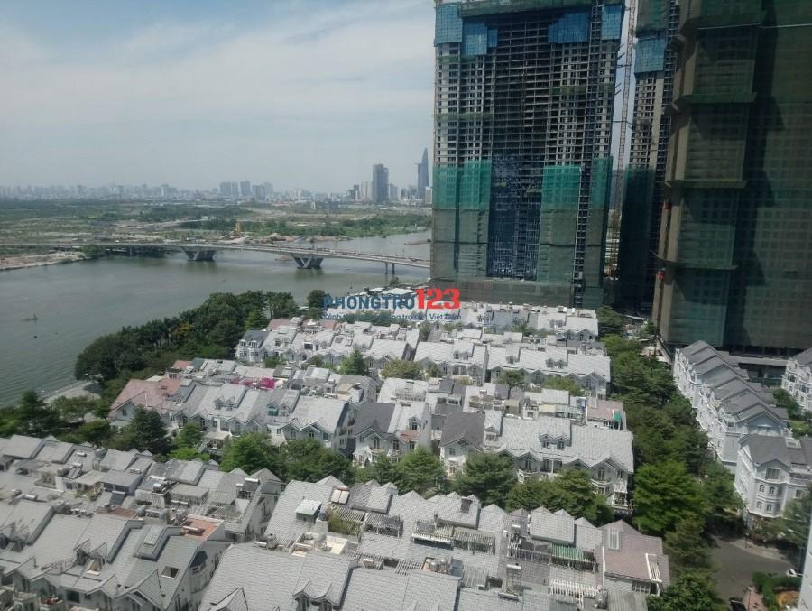 Căn hộ 2PN - View sông Sài Gòn Pearl giá tốt nhất 900$ bao phí quản lý