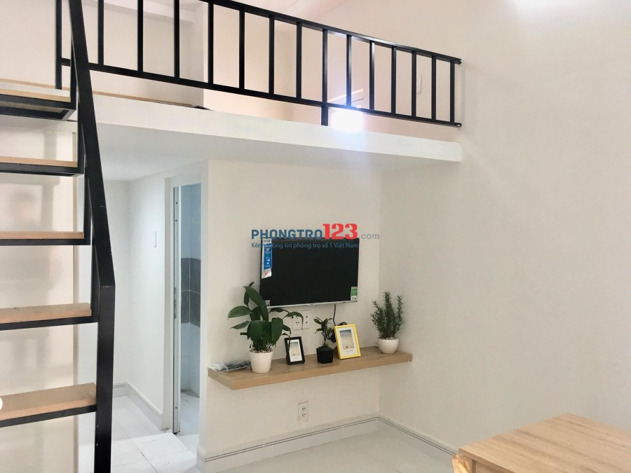 cho thuê căn hộ mini mới xây full nội thất gia từ 4tr6