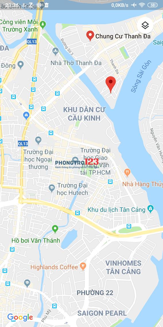 PHÒNG TRỌ GIÁ RẺ BÌNH THẠNH THANH ĐA - 20M2