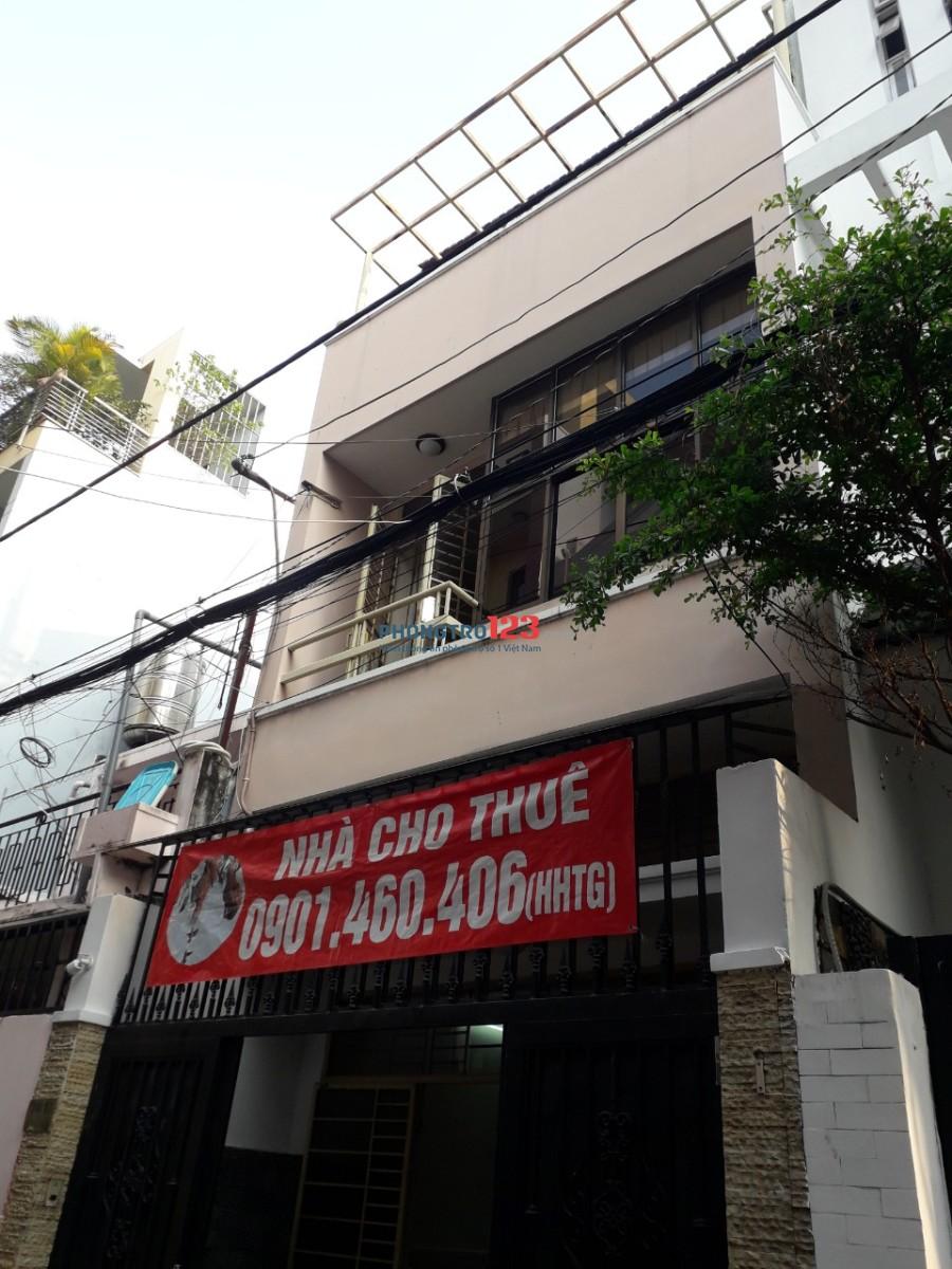 Cho thuê nhà HXT 28/17 Đặng Văn Ngữ, Phú Nhuận 150M2