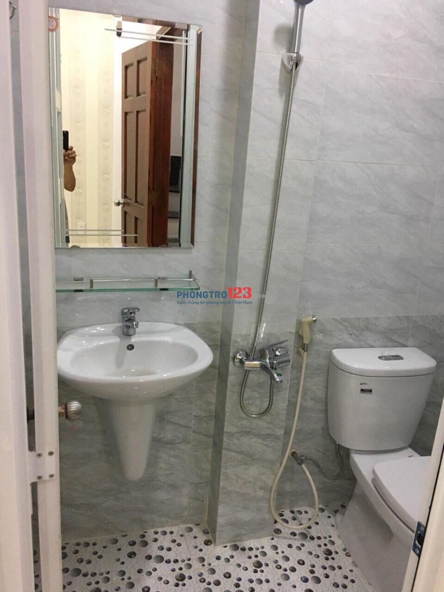 Phòng cho thuê giá rẻ bên cạnh ĐH Hồng Bàng - Quận 1