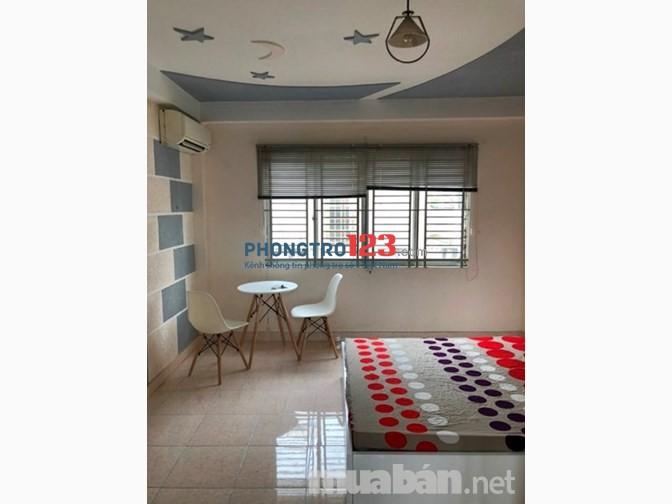 Phòng mới xây đẹp đường Phan Tây Hồ, Phú Nhuận, 25m 4,5tr