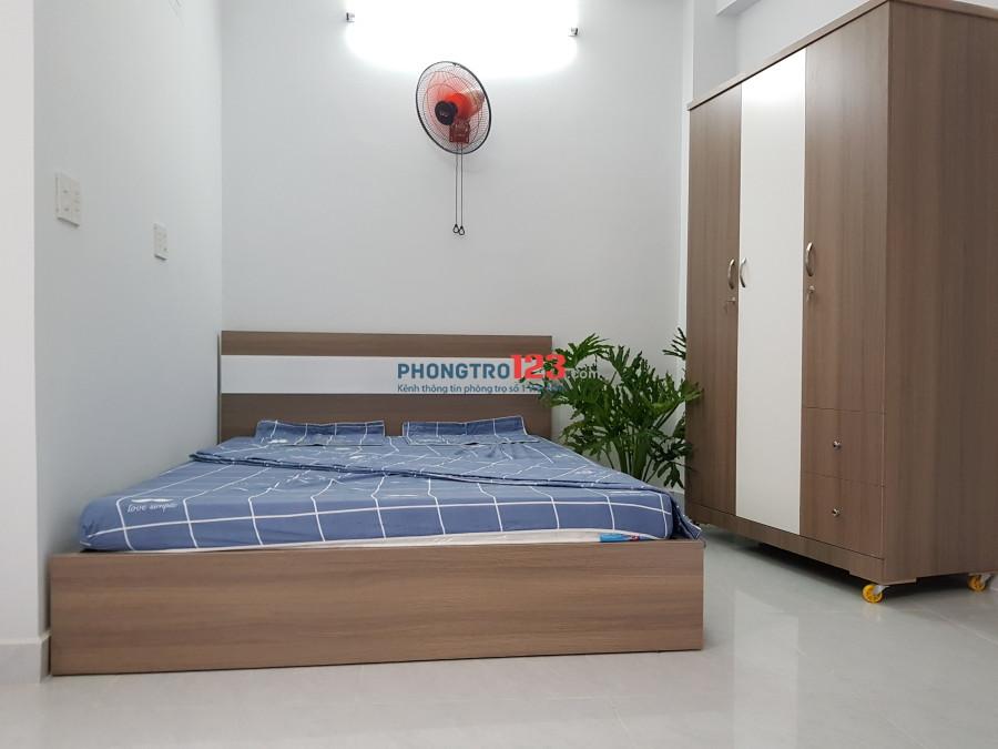 Cho thuê phòng full nội thất gần Thành Thái, Bắc Hải, chợ Ông Địa