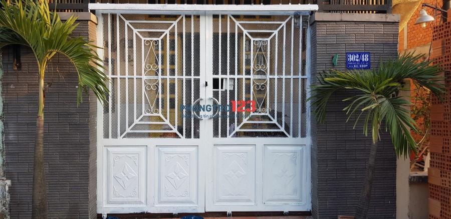 Cho nữ thuê 4 phòng trong nhà nguyên căn, ko chung chủ giờ giấc tự do Phan Huy Ích, Gò Vấp