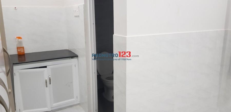 Cho thuê phòng full nội thất gần chợ Phạm Văn Bạch