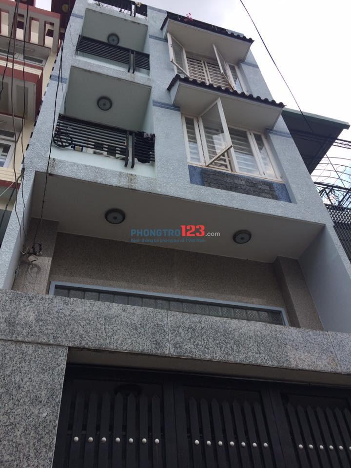 Cho thuê phòng tại 643/1B Xô Viết Nghệ Tĩnh, P.26, Q.Bình Thạnh