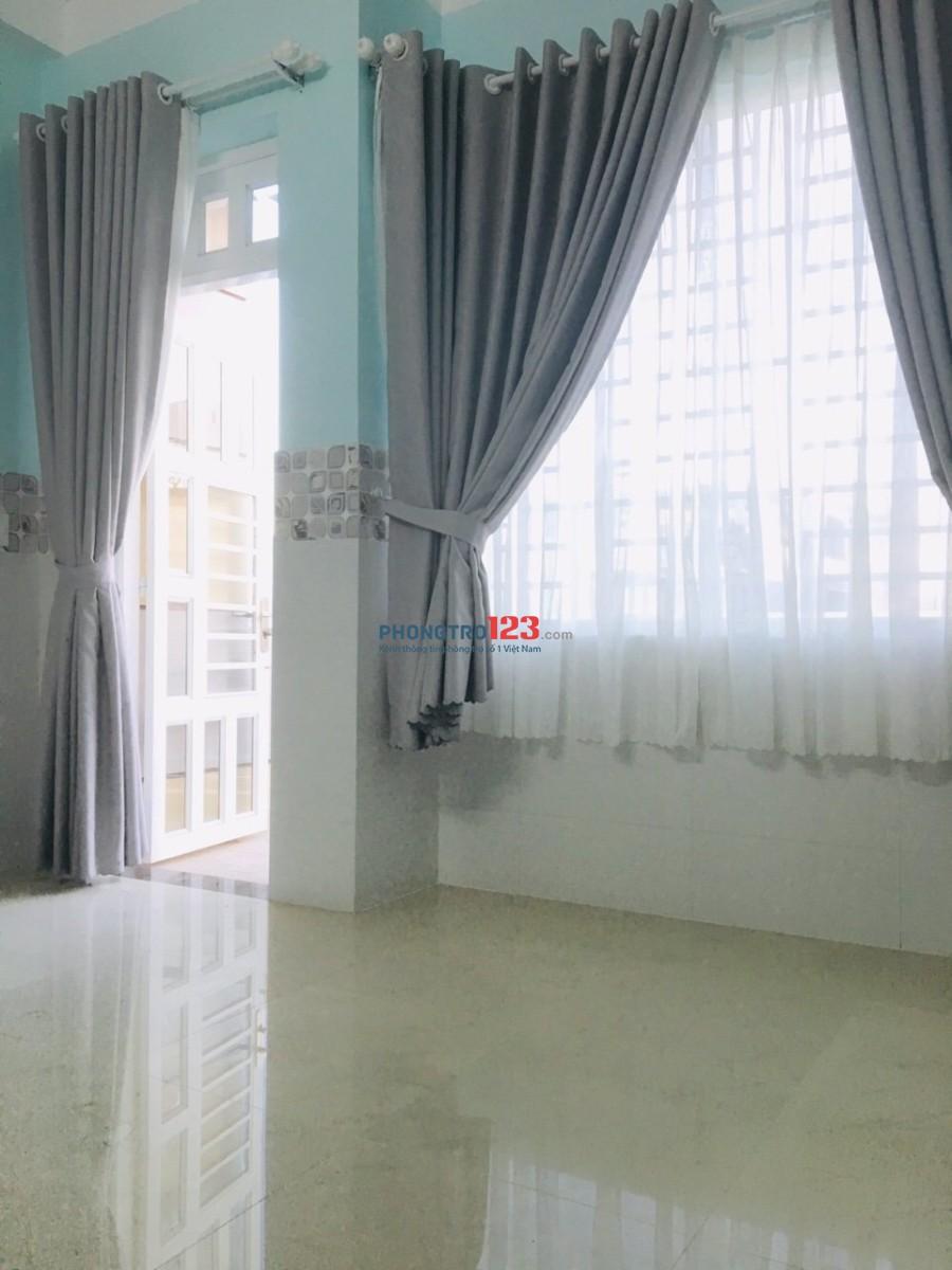 Cho nữ thuê phòng trọ ở khu Tân Phú
