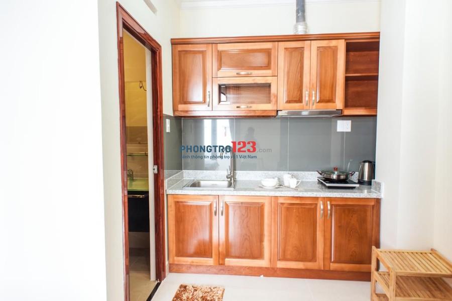 Cho thuê căn hộ mini mới xây, full Nội Thất thang máy, gần cầuThị Nghè-XVNT, giá 5tr