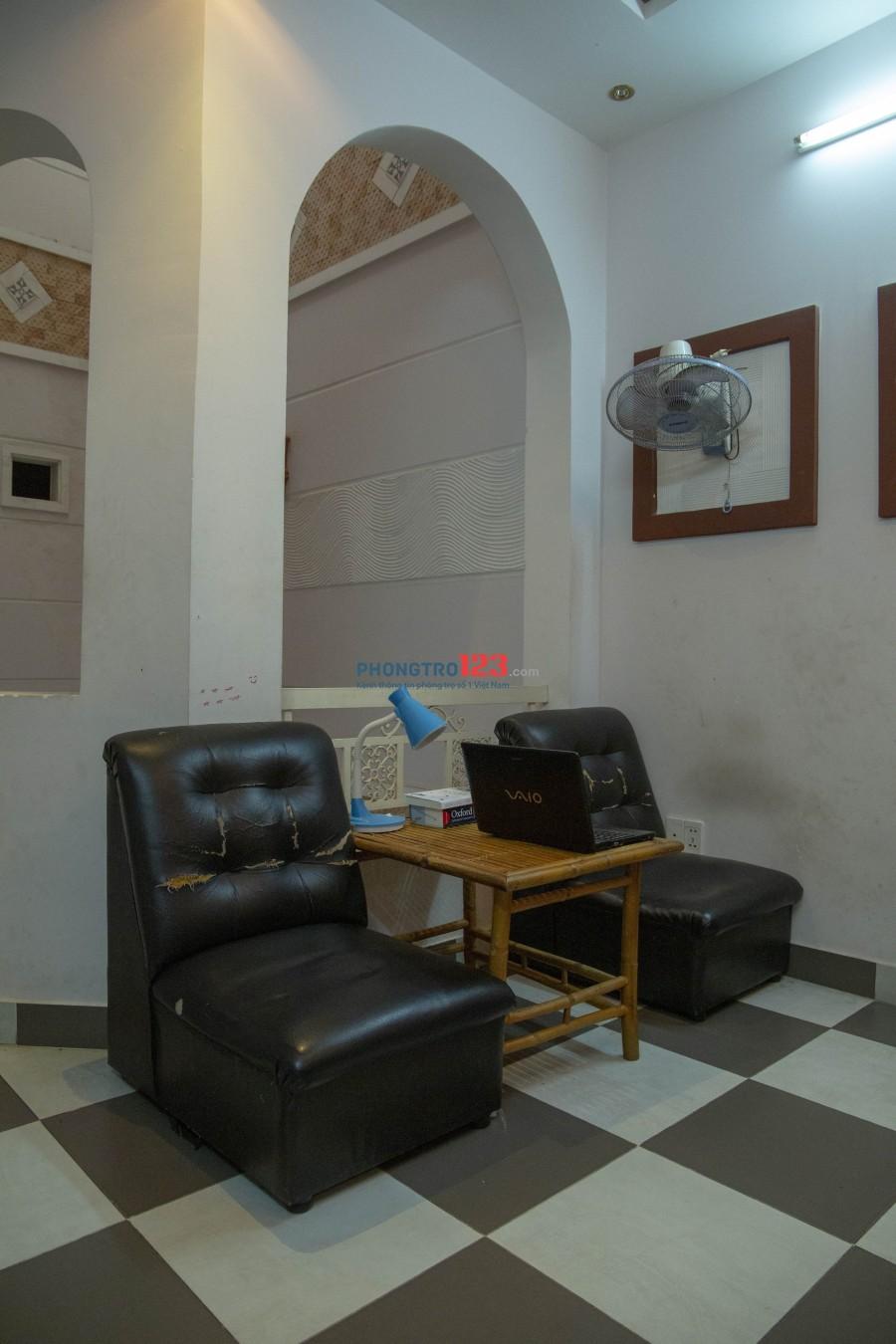 Phòng trọ ở ghép tiện nghi Quận Bình Thạnh 35m²