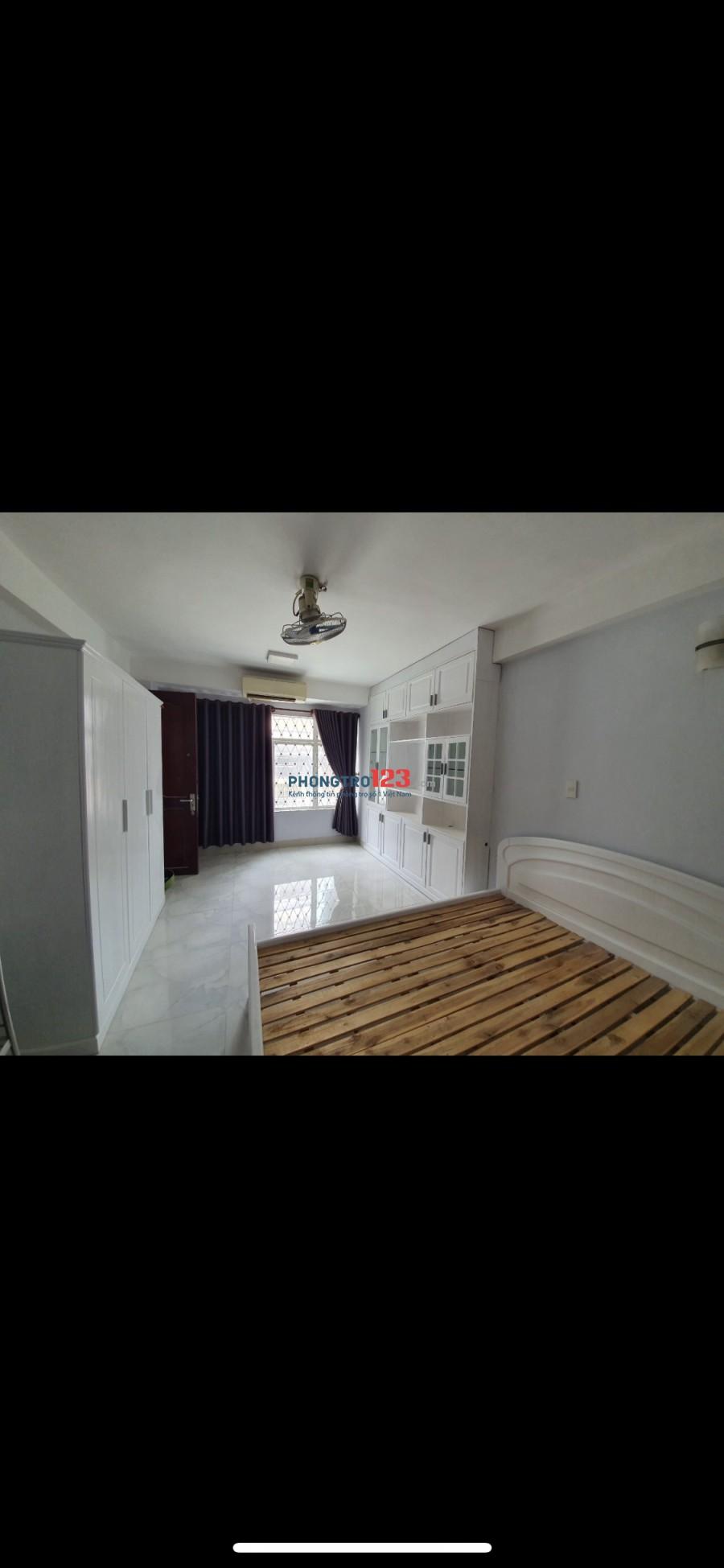 Cho thuê phòng đầy đủ tiện nghi trung tâm quận Tân Bình