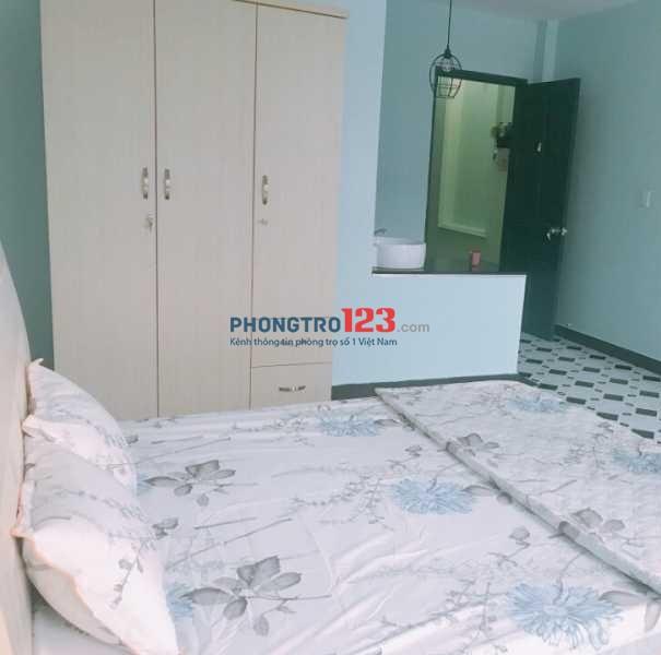 Cho thuê phòng nội thất, máy lạnh, sạch sẽ Phạm Phú Thứ, Tân Bình giá 3.5tr
