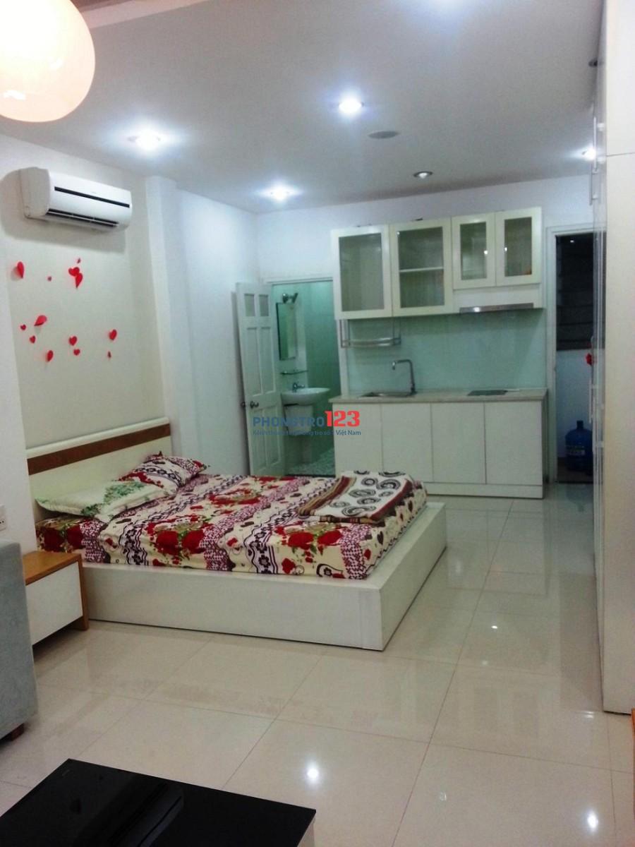 Căn hộ mini 30m2, balcon, đầy đủ tiện nghi Trần Quang Diệu, Q.3, giá 4tr
