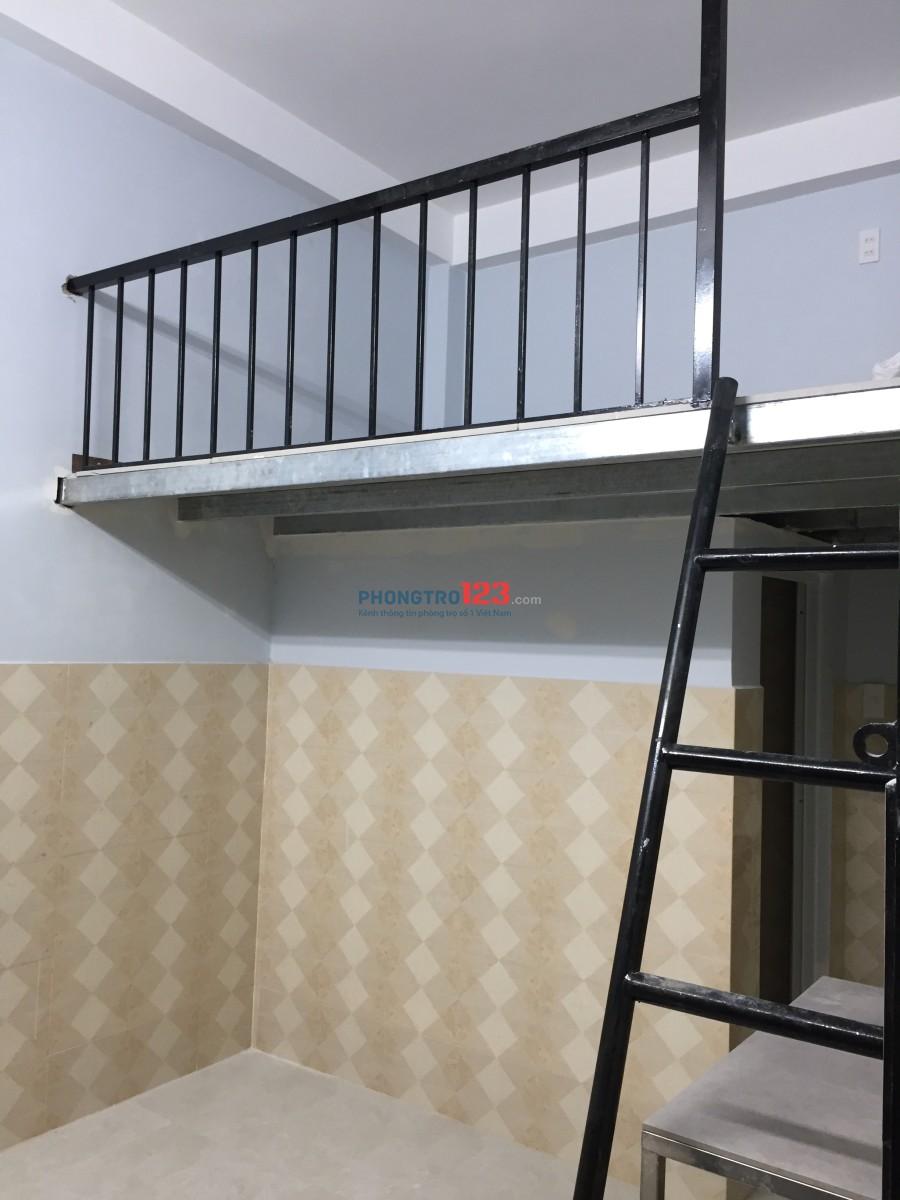 Cho thuê phòng trọ mới xây 100%, sạch sẻ an ninh thoáng mát