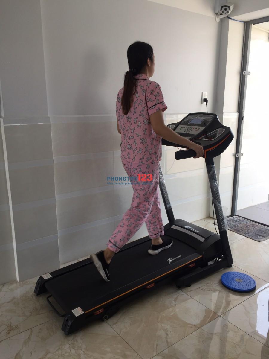 Căn hộ dịch vụ full nội thất có phòng tập gym riêng