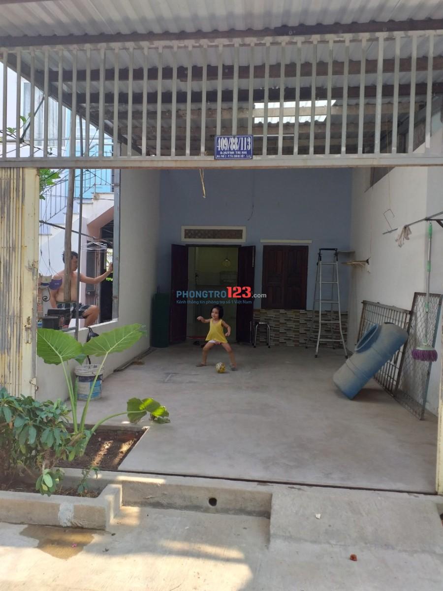 Cho thuê nhà nguyên căn ở quận 12, gần đường Tô ký và ĐH GTVT, đường 5m