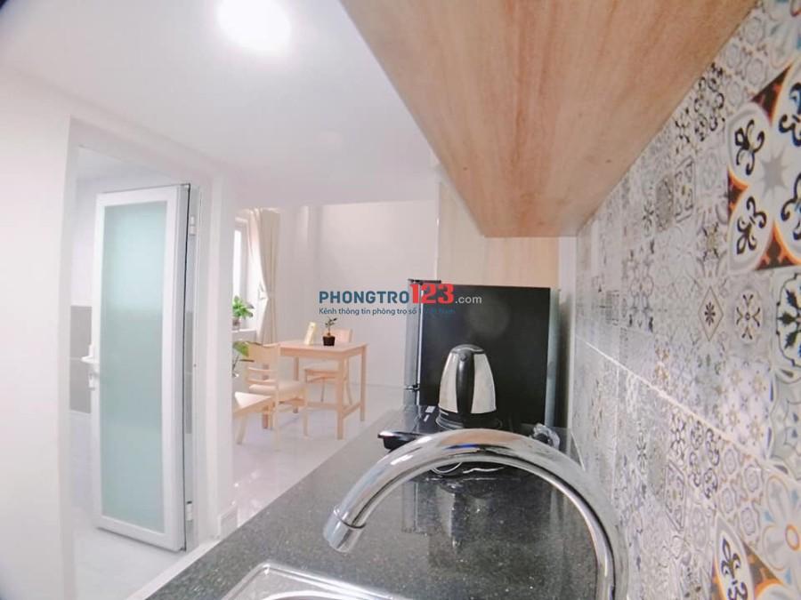Cho thuê căn hộ mini Q.7- full nội thất- 30m2- có gác-4tr6