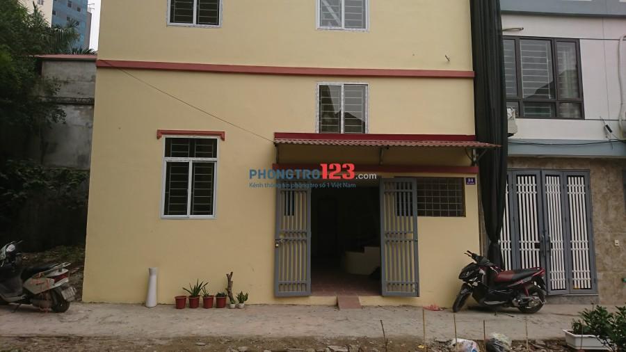 Cho thuê phòng trọ khép kín 34 - Ngõ Ngoài - Tổ 10 - Phúc La - Hà Đông