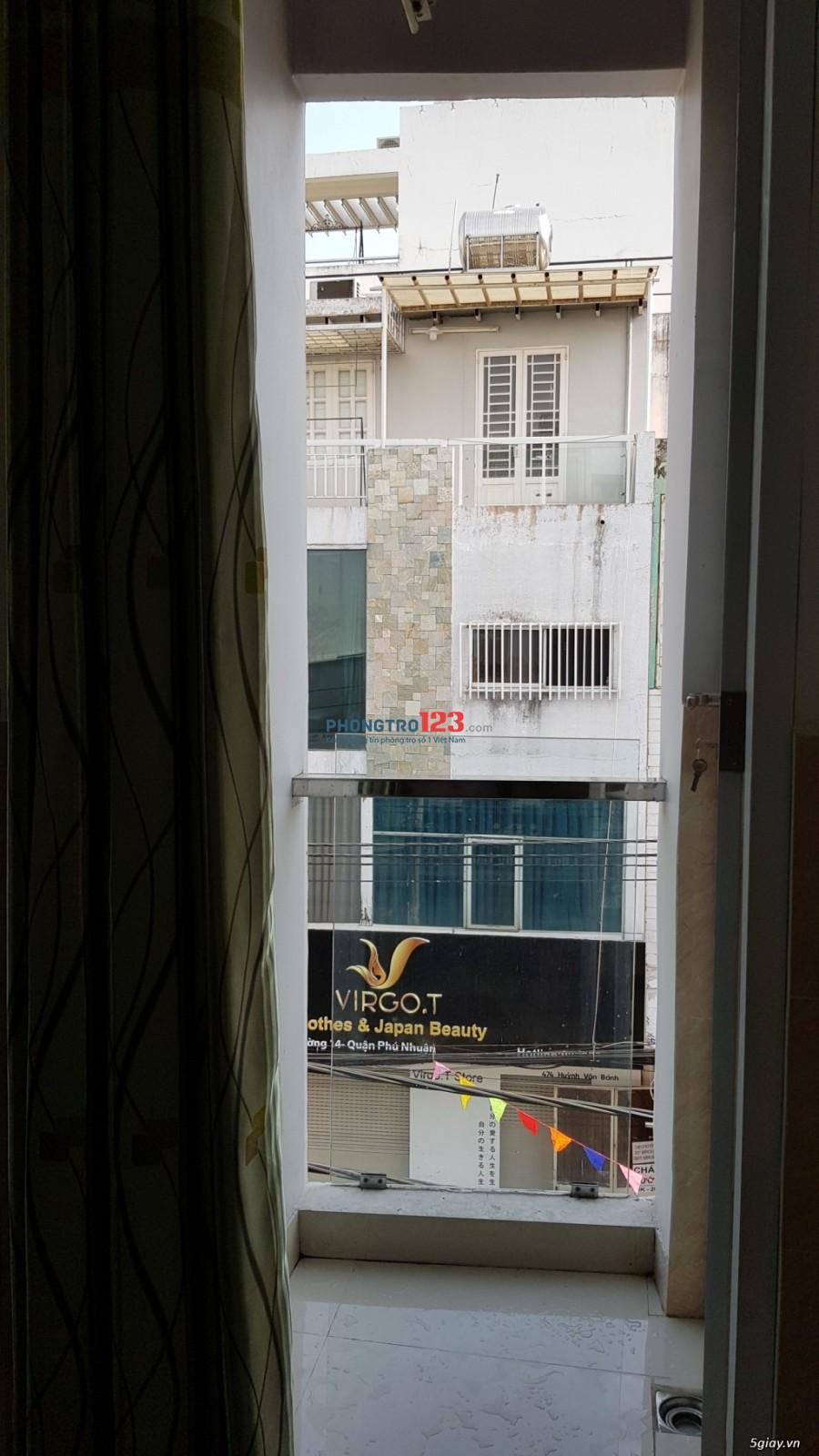 Cho thuê phòng 28m2 - Phú Nhuận - mặt tiền đường - đủ tiện nghi