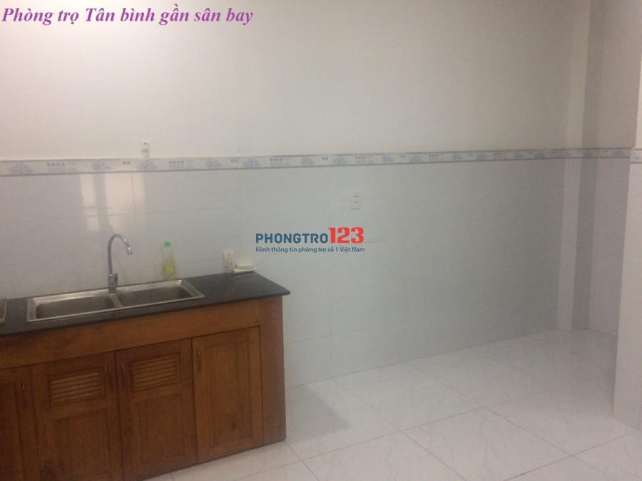 Phòng cho thuê ở Tân Bình gần sân bay 3.5 triệu