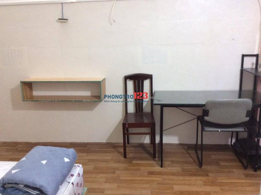 Cho thuê phòng cao cấp, hẻm xe hơi, Nguyễn Hữu Cảnh, 5p đến trung tâm Q.1, 6tr250/th