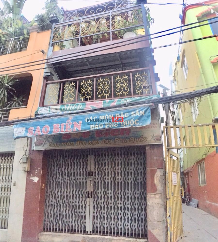 Cho thuê nhà mặt tiền 136 Nguyễn Công Hoan, Phú Nhuận - 1T2L 3P, 3WC, giá 20tr