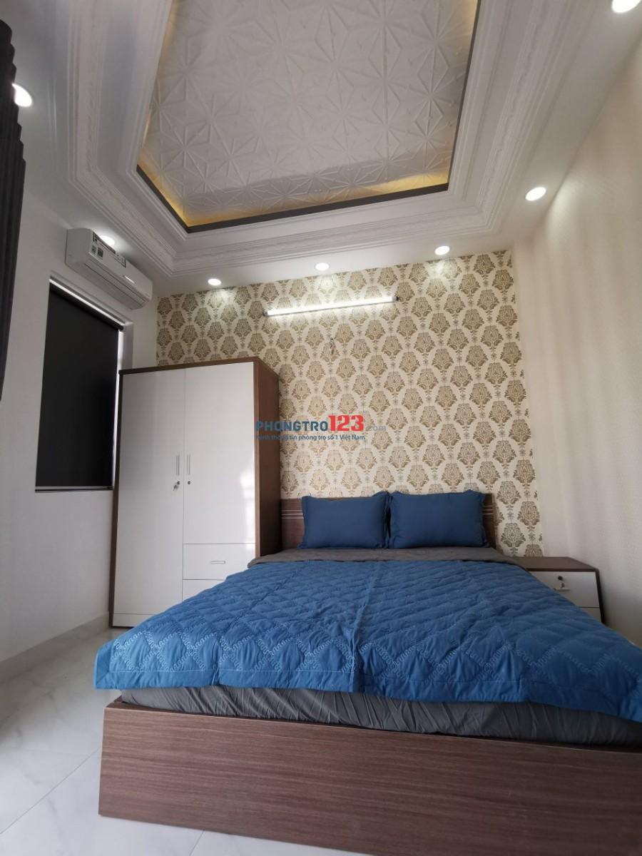 Phòng trọ mới xây từ 22-35m2 giá từ 3,5tr full nội thất