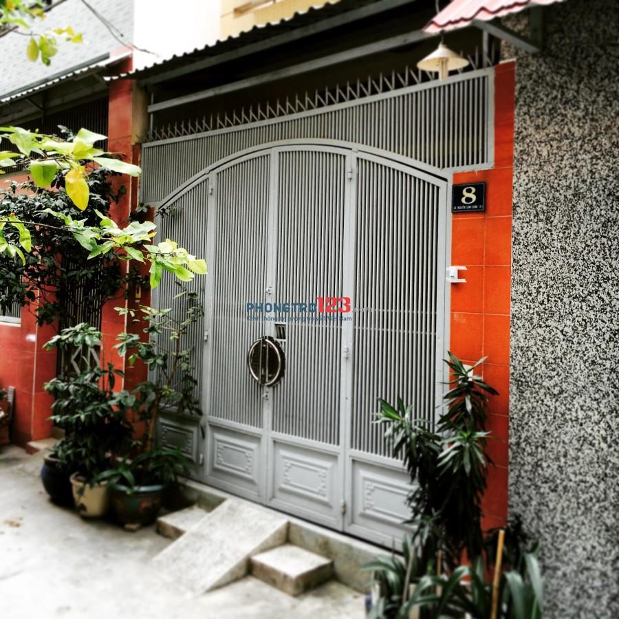 Phòng trọ đầy đủ nội thất, Nguyễn Trãi, Q.1