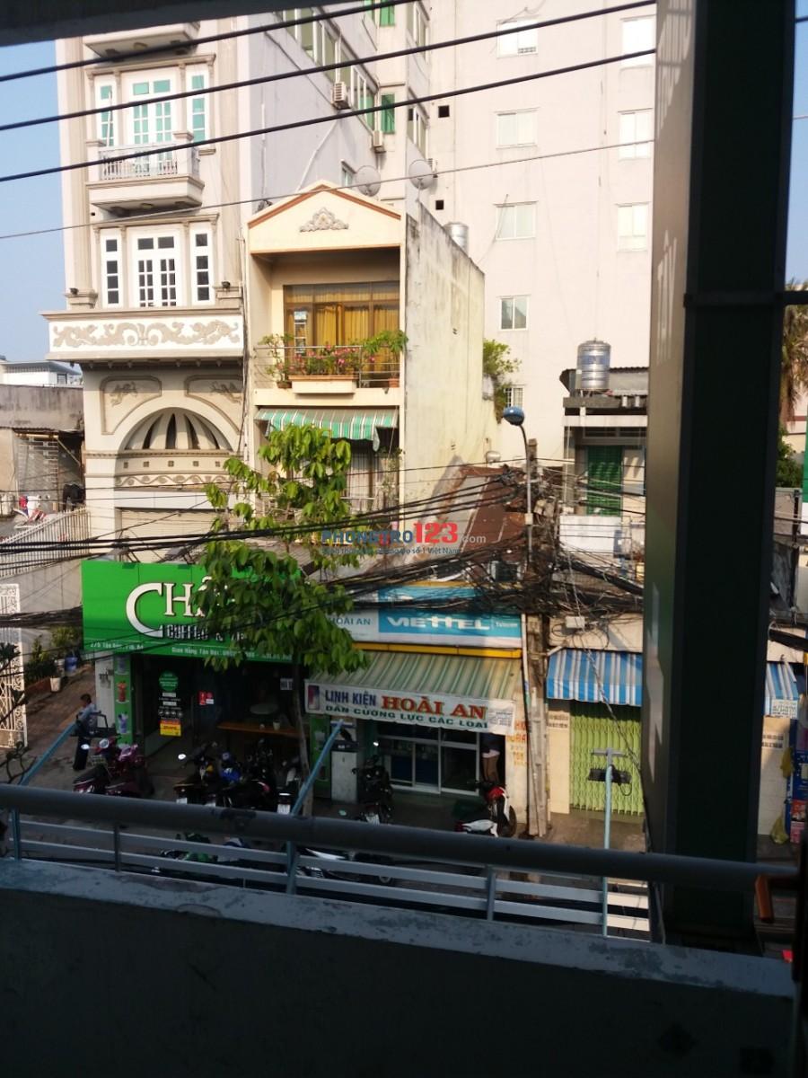 Phòng rộng 15 - 20m2 máy lạnh 3 - 5 người 316 Tôn Đản, Phường 4, Quận 4 gần ĐH Nguyễn Tất Thành
