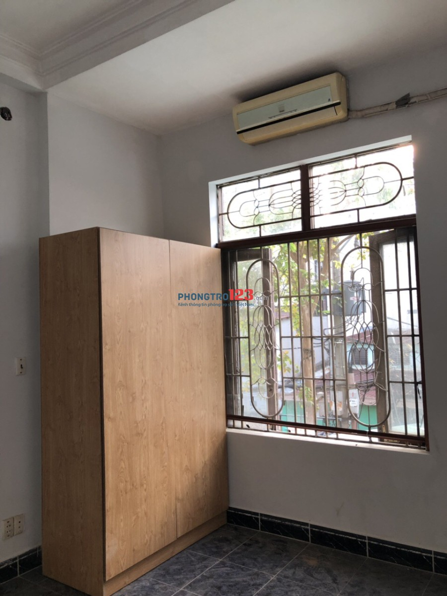 Phòng trọ đẹp, thoáng, mới sửa tại Thích Quảng Đức, Phú Nhuận