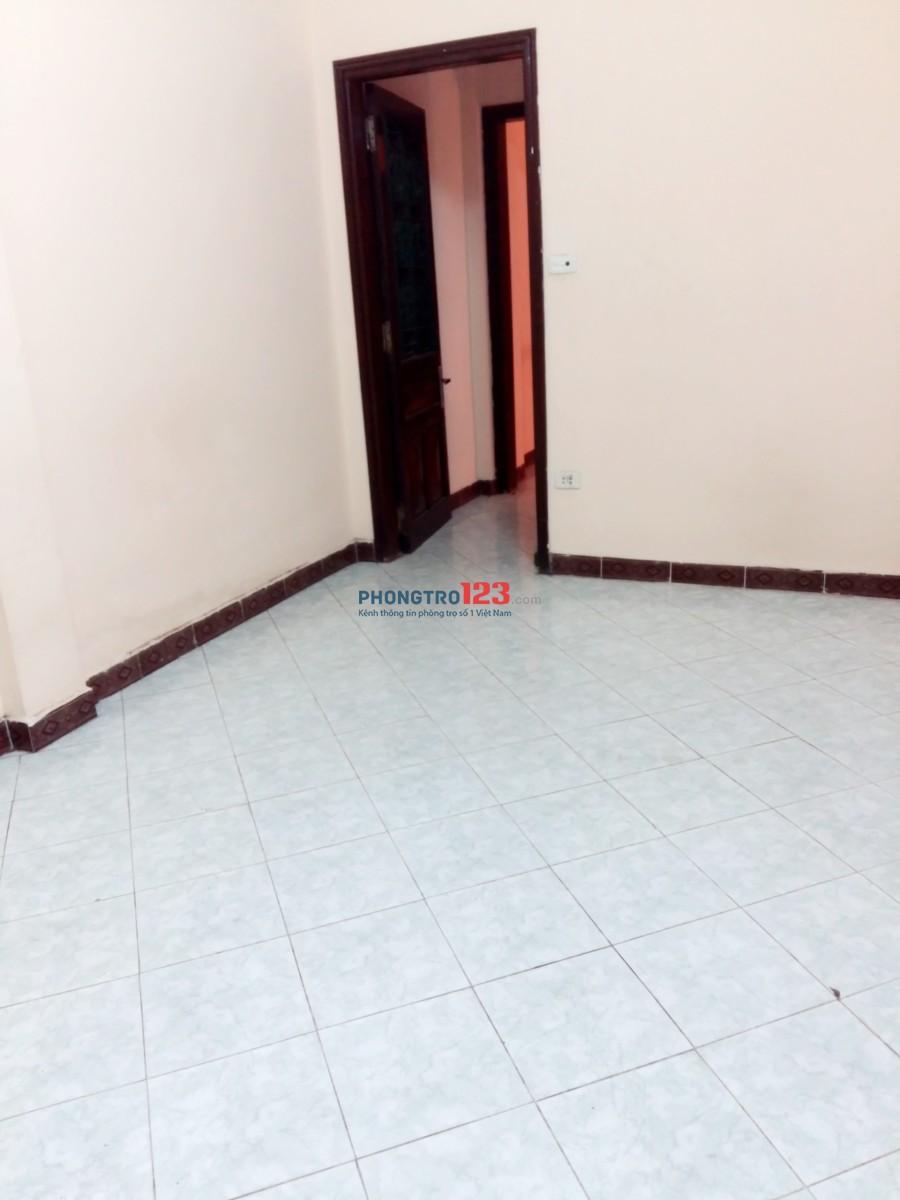 Cho 02 nữ thuê phòng tầng 02 ở ngõ 82 phố Yên Lãng, Thái Thịnh