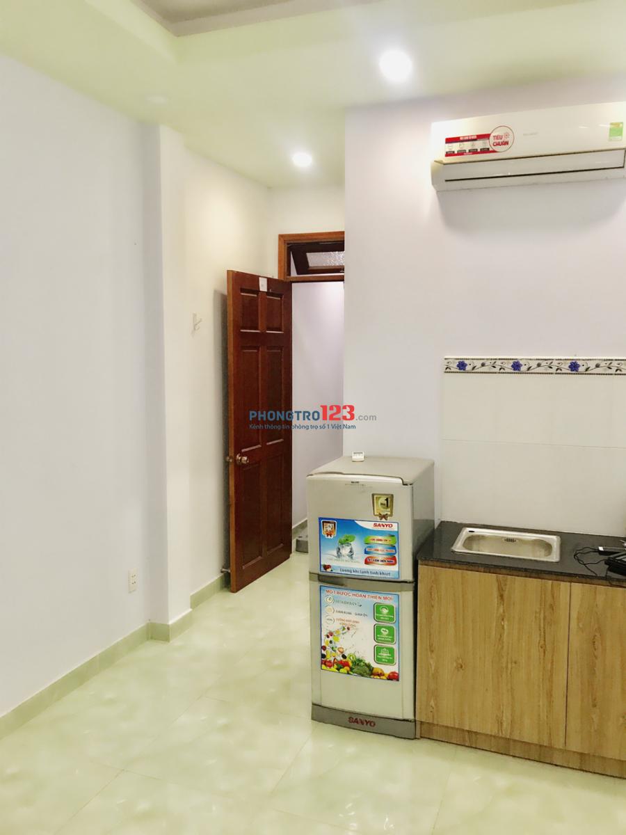 Phòng trọ Thích Quảng Đức, Phú Nhuận + full nội thất