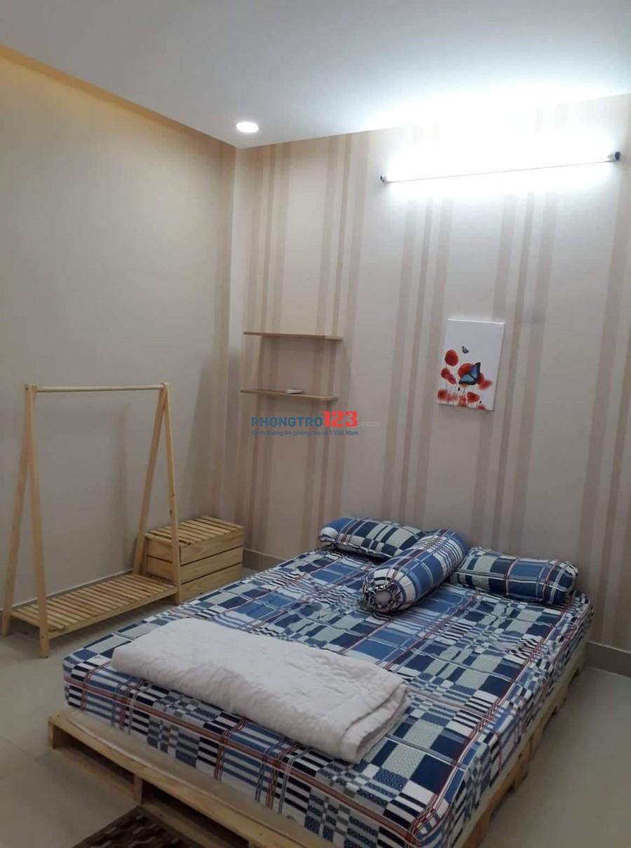 Phòng cho thuê, full nội thất, đường Chu Văn An, Bình Thạnh. Liên hệ: 0927991284